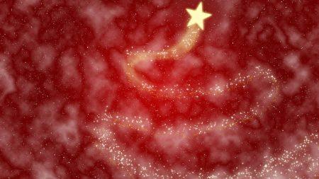 light, star, red