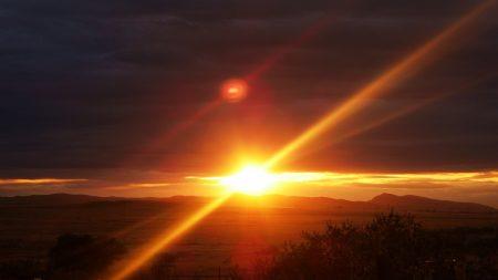light, sun, beams