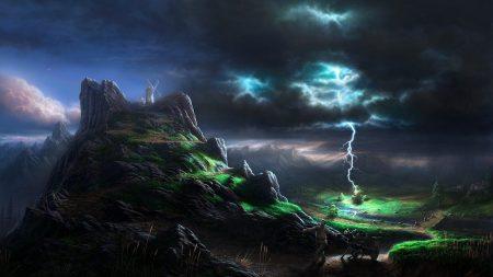 lightning, blow, elements