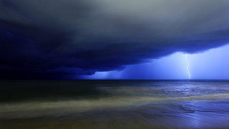 lightning, blow, sky