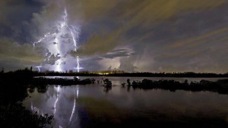 lightning, category, blow