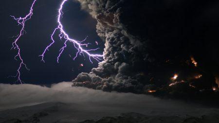 lightning, sky, tornado