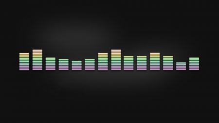 line, equalizer, multi-colored