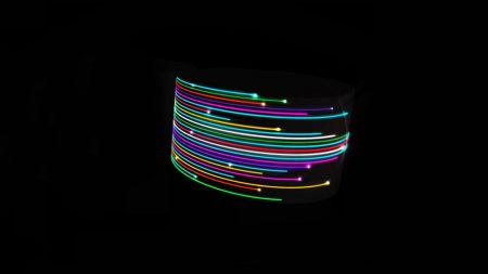 line, light, colorful