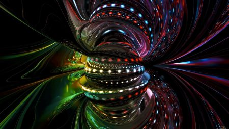 line, spinning, colorful