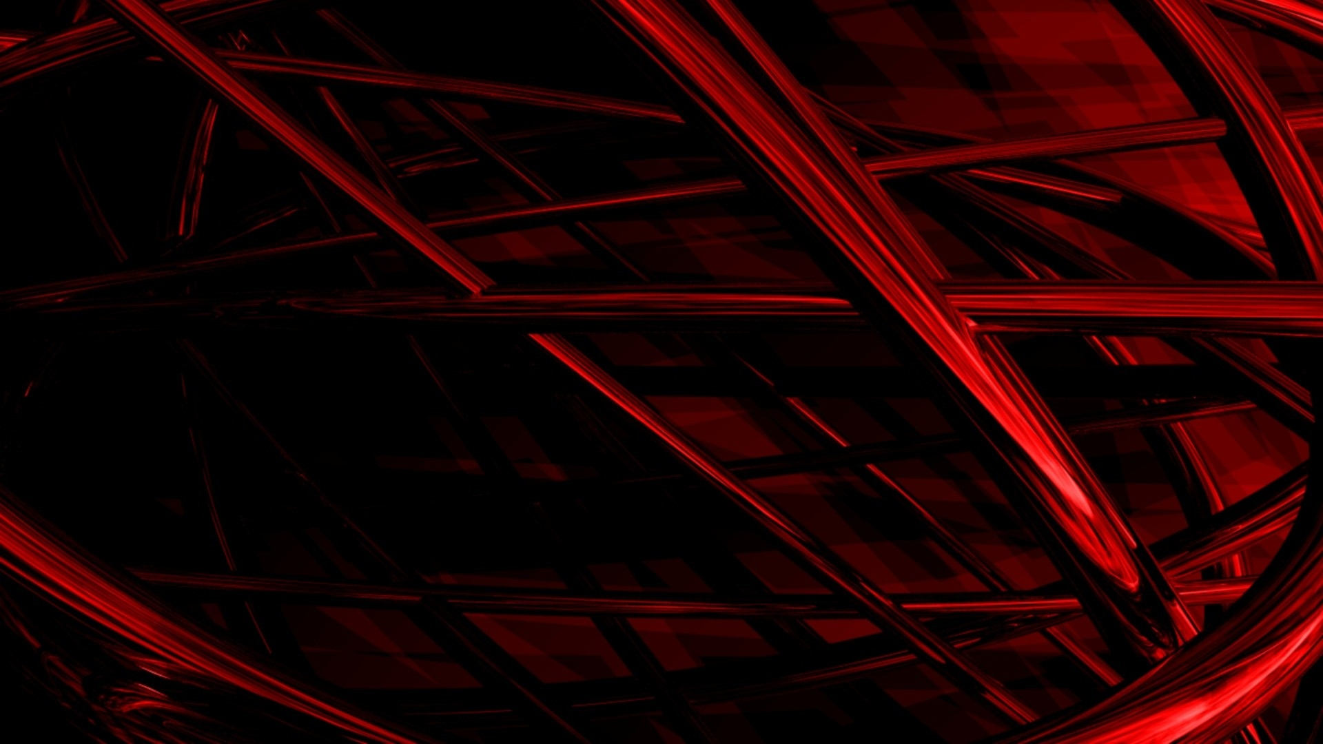 Download Wallpaper 1920x1080 Lines Woven Dark Shadow Red Full
