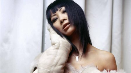 ling bai, actress, girl