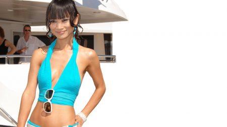 ling bai, girl, actress