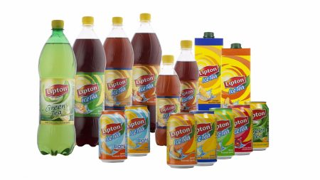 lipton, iced tea, bottle