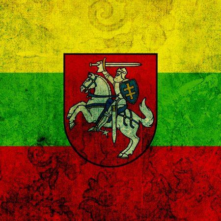lithuania, flag, texture