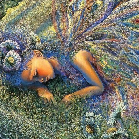 little fairy, wings, fatigue