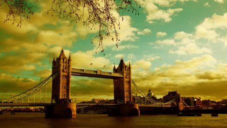 london, bridge, river
