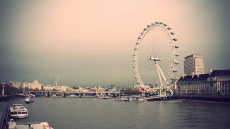 london, ride, river