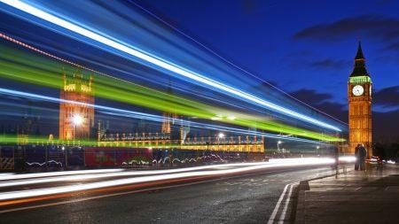 london, road, city