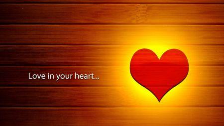 love, heart, fire