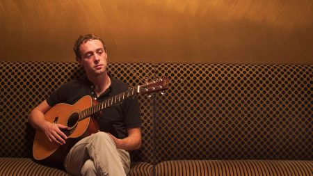 luke temple, guitar, couch