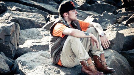 mac miller, stones, shoes