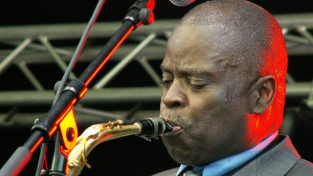 maceo parker, action, microphone
