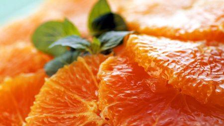 macro, orange, clove
