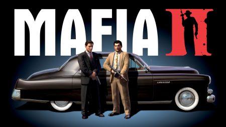 mafia 2, car, gun