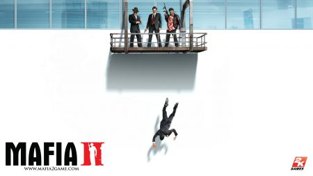 mafia 2, window, gun