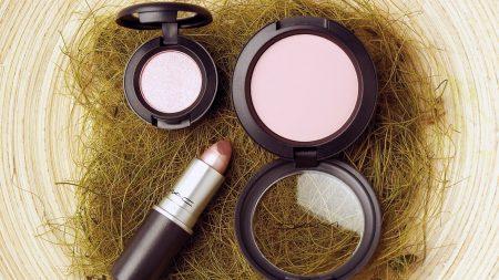 makeup, blush, lipstick