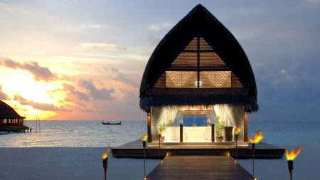 maldives, beach, tropical