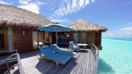 maldives, house, summer
