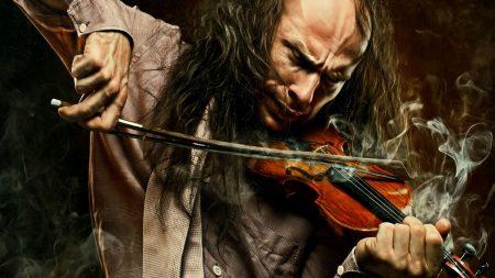 man, game, violin