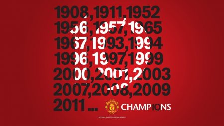 manchester united, champions, year