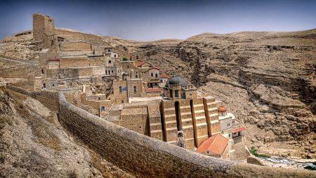 mar saba, monastery, greece