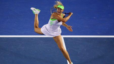 maria sharapova, tennis, racket