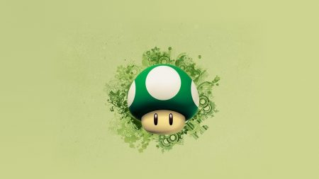 mario, mushroom, graphics