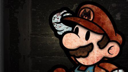 mario, mustache, background