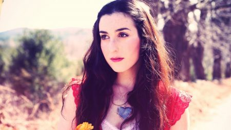 marissa nadler, girl, flower