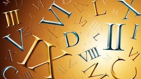 marks, numerals, roman