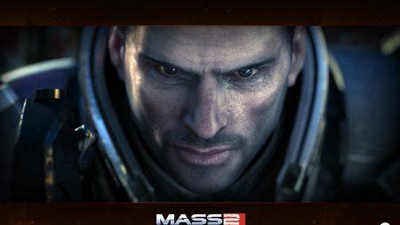 mass effect 2, shepard, face