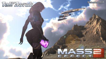 mass effect 2, tali zorah, normandy