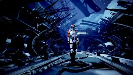 mass effect 3, character, space