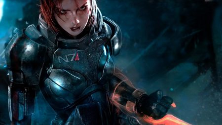 mass effect 3, shepard, female