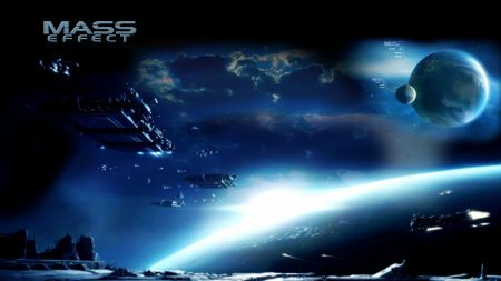 mass effect 3, space, planets