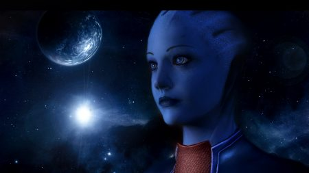 mass effect, asari, look