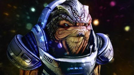 mass effect, grunt, face