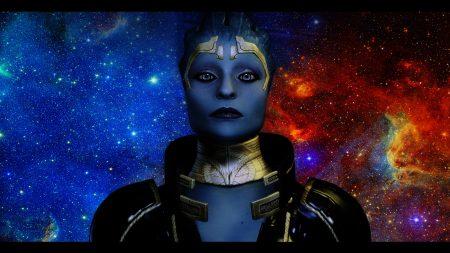 mass effect, justicar samara, space