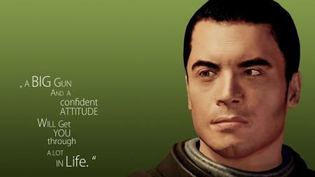 mass effect, quote, look