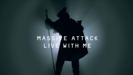 massive attack, silhouette, man