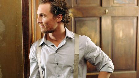 matthew mcconaughey, view profile, shirt