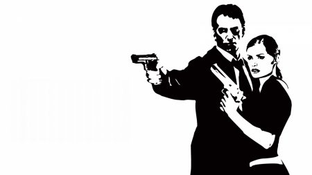 max payne, female, pistols