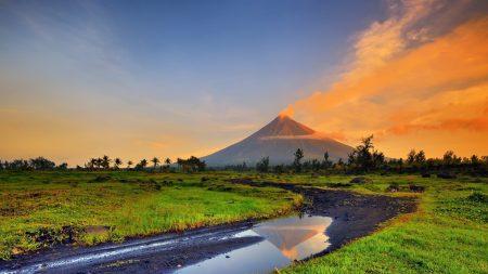mayon, park, mayon volcano