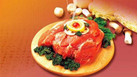meat, fresh, lemon